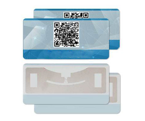 E Tolling Windshield Tag Uhf Tamper Proof Rfid Tolling Tag