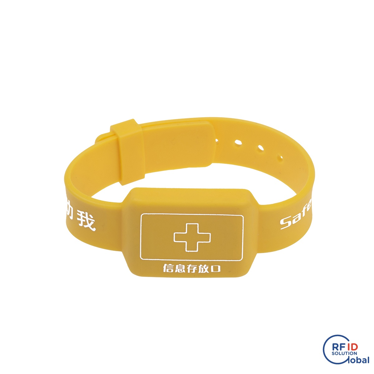 Practical Rfid Bracelet 13.56mhz I-code 2 Soft Silicon Rfid Wristband For Electronic Safe Lock Access Control Security & Protection