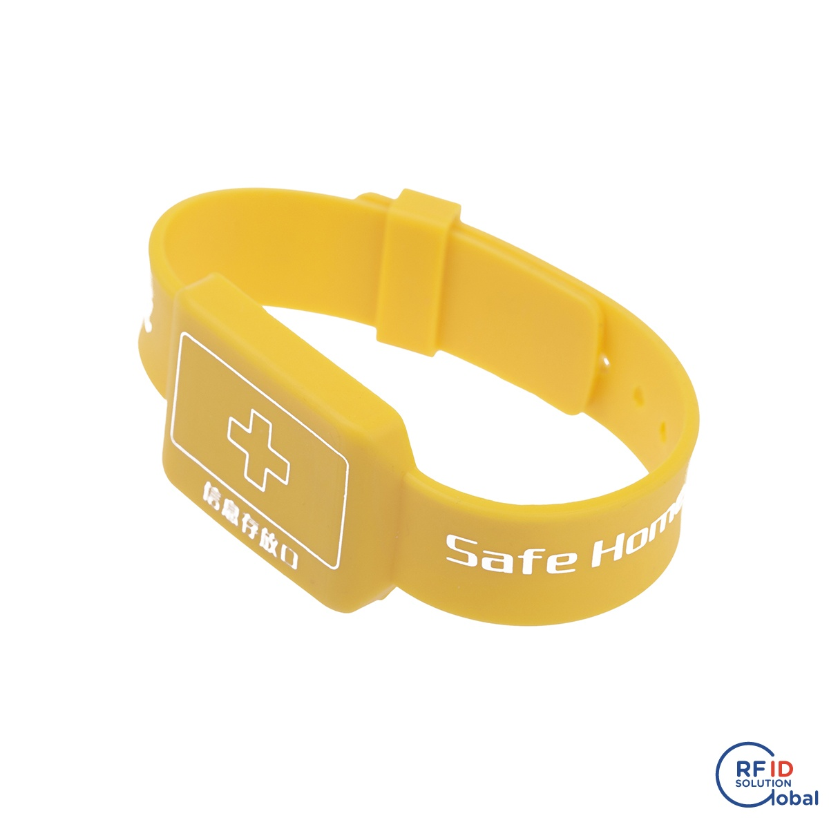 Practical Rfid Bracelet 13.56mhz I-code 2 Soft Silicon Rfid Wristband For Electronic Safe Lock Security & Protection Access Control