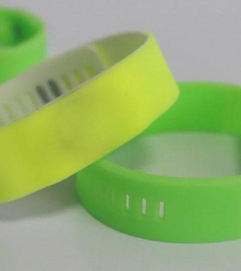 MIFARE Plus EV1 2K 4K adjustable custom rfid wristband